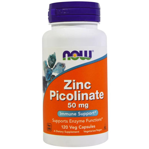Now Foods Zinc Picolinate 50mg 60VC