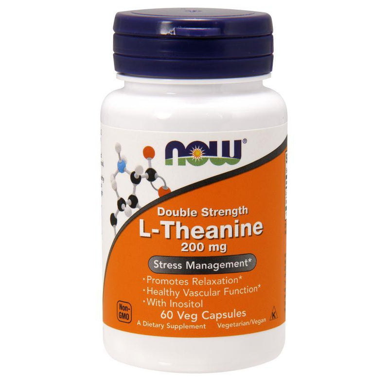 Now Foods L-Theanine 200mg 60VC