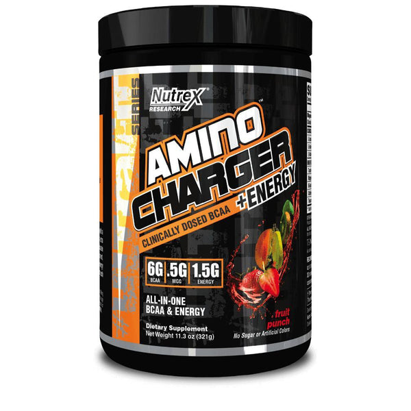 Nutrex Amino Charger + Energy Fruit Punch