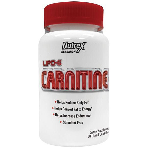 Nutrex Lipo-6 Carnitine 120 Liquid Caps