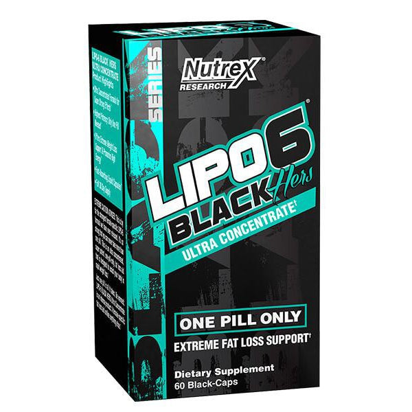 Nutrex Lipo-6 Black Hers Ultra Concentrate 60C