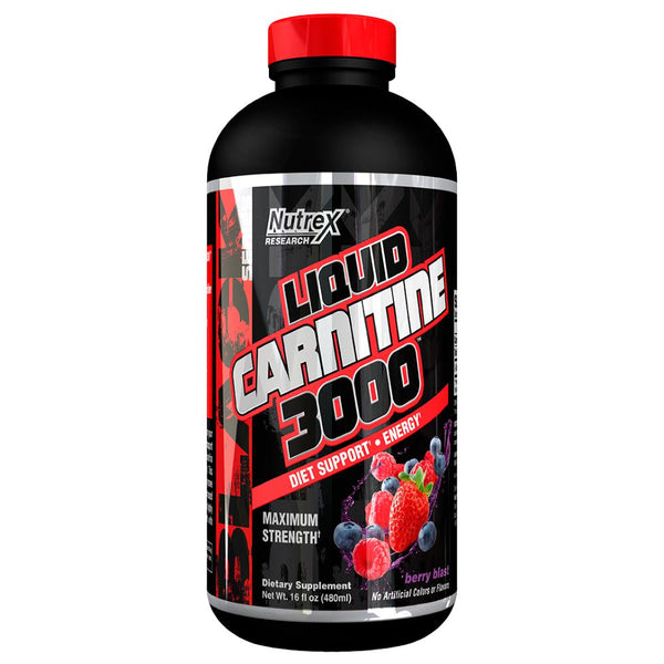 Nutrex Liquid L-Carnitine 16oz Berry Blast