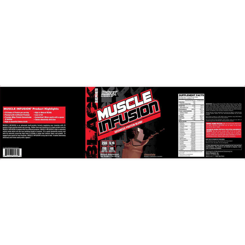 Nutrex Muscle Infusion Protein 5LB