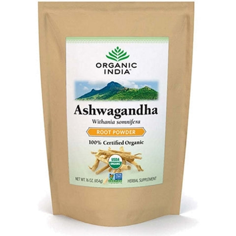 Organic India Ashwagandha Powder 1lb