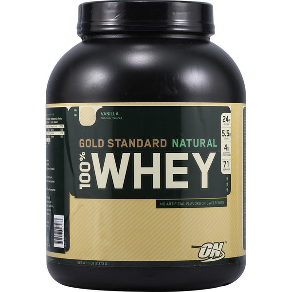 Optimum Nutrition 100% Whey Gold Natural 5LB