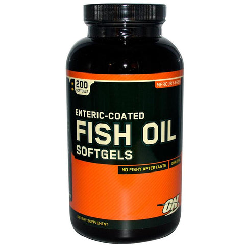 Optimum Nutrition Enteric Coated Fish Oils 100 SG