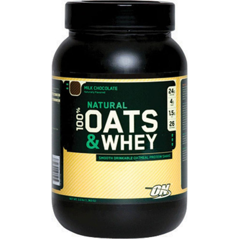 Optimum Nutrition 100% Natural Whey & Oats 3 LB