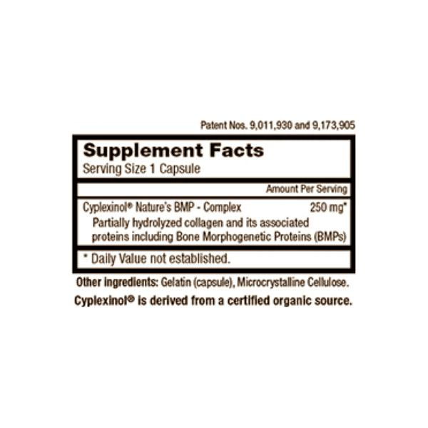Zycal Bioceuticals Ostinol Advanced 250mg Supplement Facts