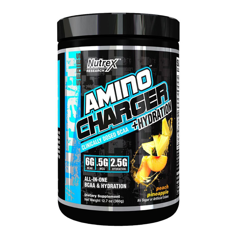 Nutrex Amino Charger + Hydration Peach Pineapple