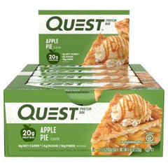 Quest Bar Box of 12 Apple Pie