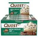 Quest Bar Box of 12 Mocha Chocolate Chip