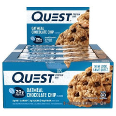 Quest Bar Box of 12 Oameal Chocolate Chip