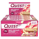Quest Bar Box of 12 Quest White Chocolate Raspberry