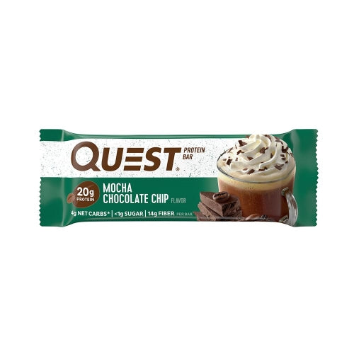 Quest Bar Single Mocha Chocolate Chip