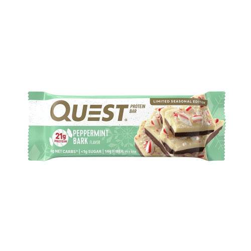 Quest Bar Single Peppermint Bark