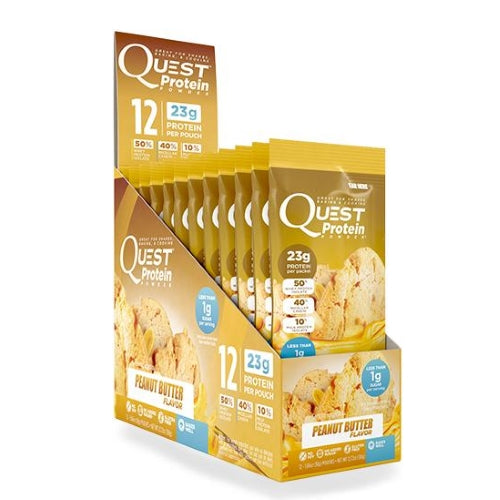 Quest Nutrition Protein Powder (12 Packets) Peanut Butter