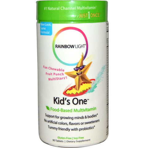 Rainbow Light Kid's One Chewable Multivitamin 90T