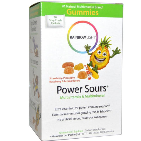 Rainbow Light Power Sour Gummy Multivitamin 30 Servings