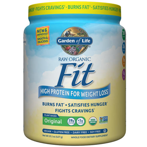 Garden of Life Raw Organic Fit Protein Unflavored