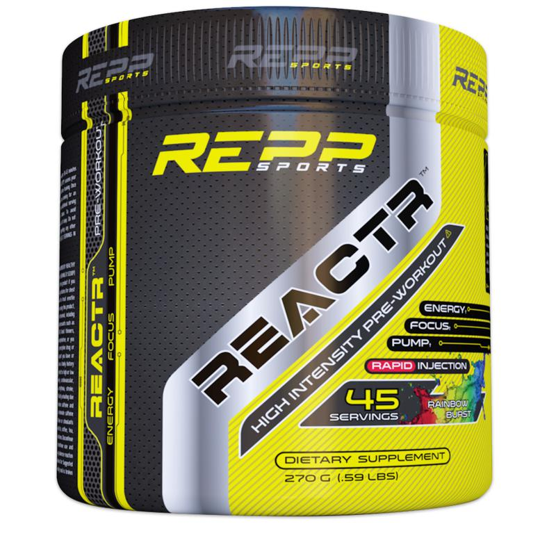 Repp Sports ReactR 45 Servings Rainbow Burst