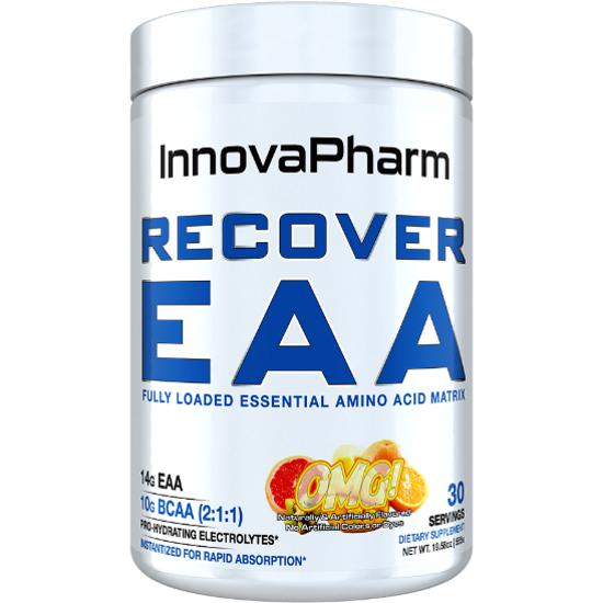 InnovaPharm Recover EAA 30 Servings Orange Mango Grapefruit