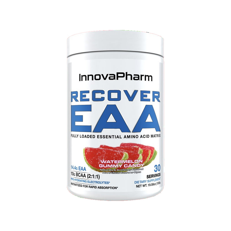 InnovaPharm Recover EAA 30 Servings Watermelon Gummy Candy