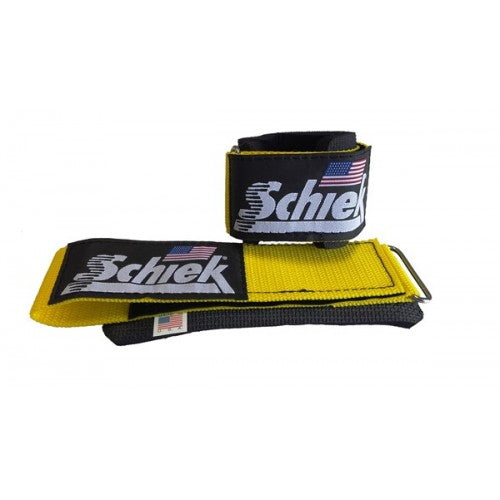 Schiek Sports Model 1100WS Wrist Supports Yellow