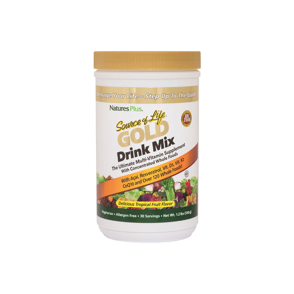 Nature's Plus Source of Life Gold Drink Mix 1.2lb