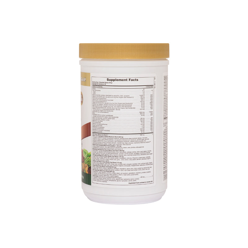 Nature's Plus Source of Life Gold Drink Mix 1.2lb Supplement Facts