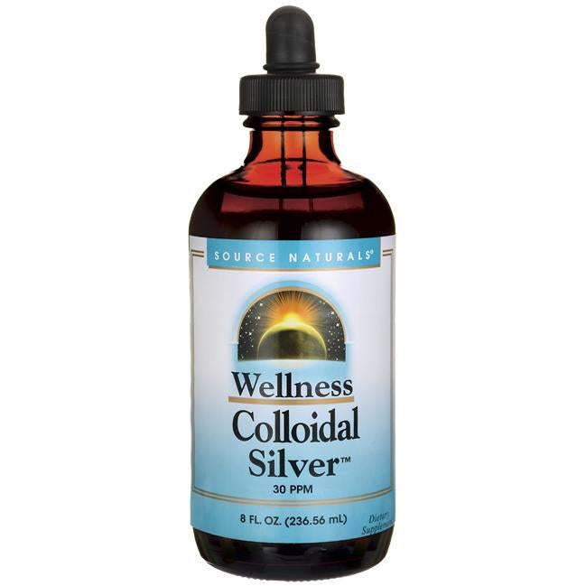Source Naturals Wellness Colloidal Silver 30ppm 8oz