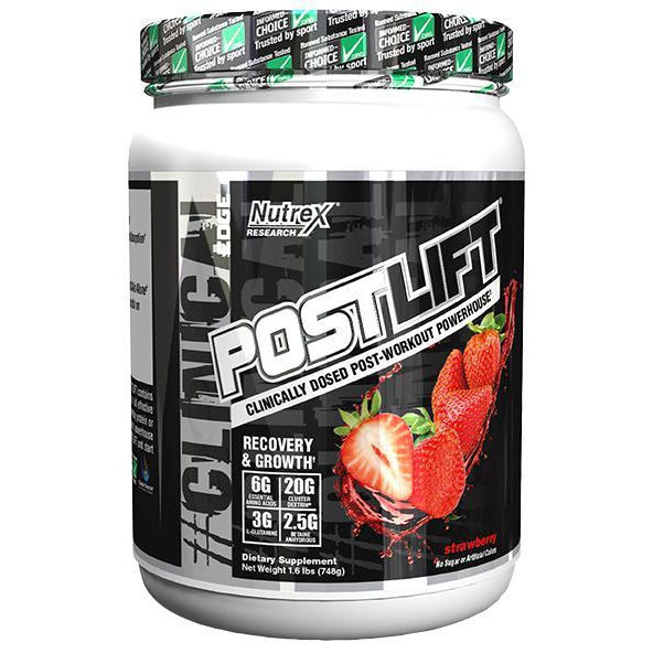 Nutrex Post Lift 20 Servings Strawberry
