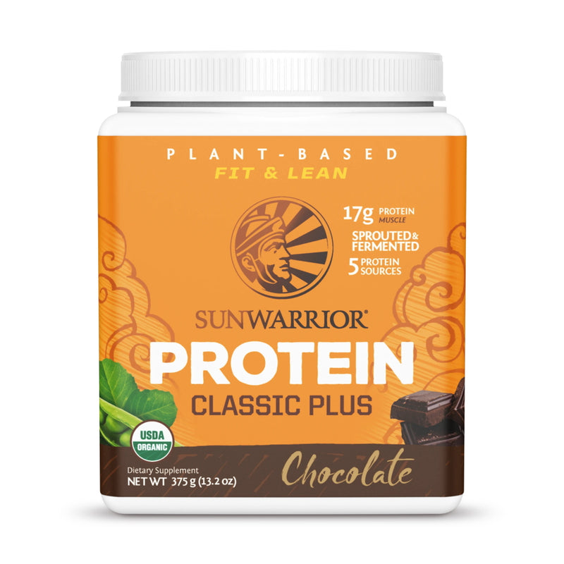 Sun Warrior Classic Plus Protein 15 Servings Chocolate