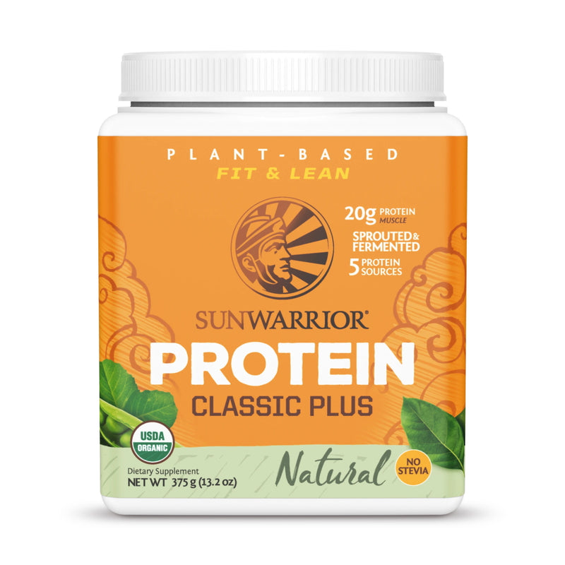 Sun Warrior Classic Plus Protein 15 Servings Natural