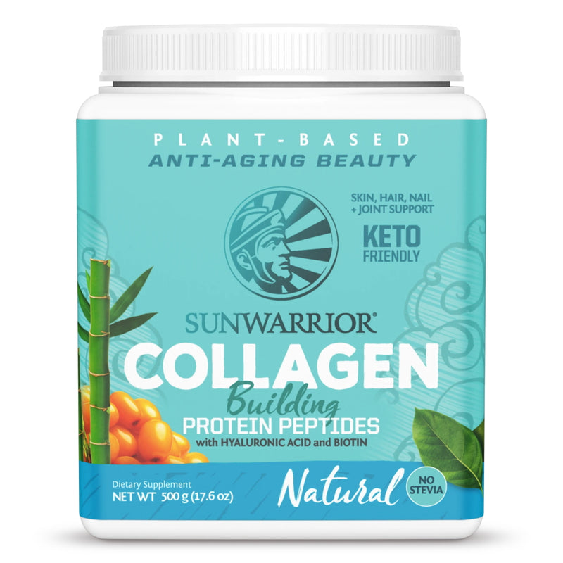 Sun Warrior Collagen Protein 20 Servings Natural