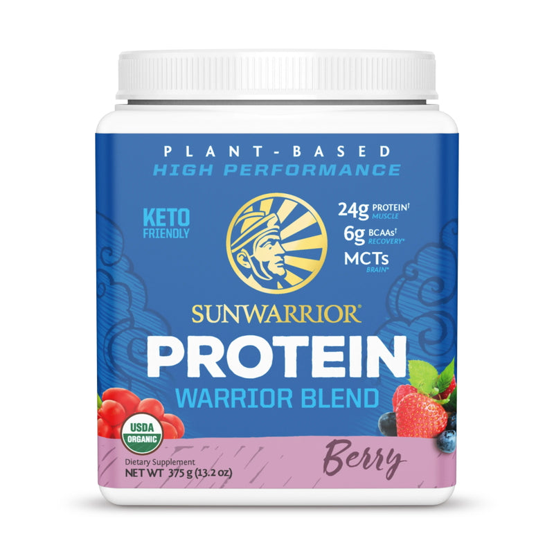SunWarrior Warrior Blend Protein 15 Servings Berry