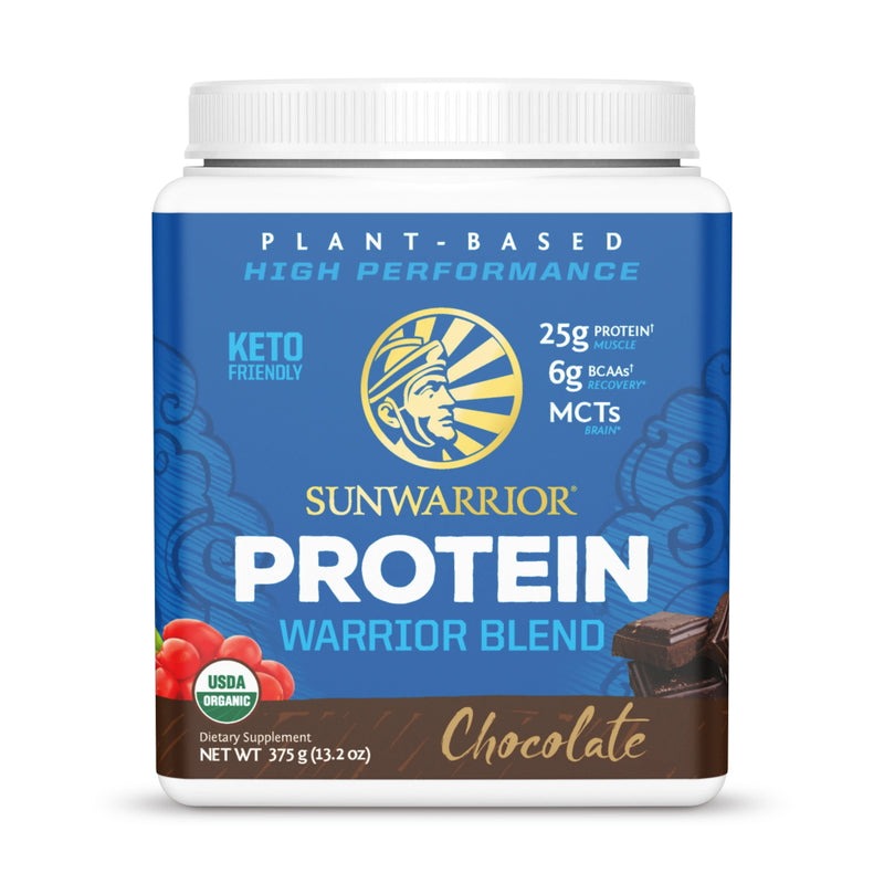 SunWarrior Warrior Blend Protein 15 Servings Chocolate
