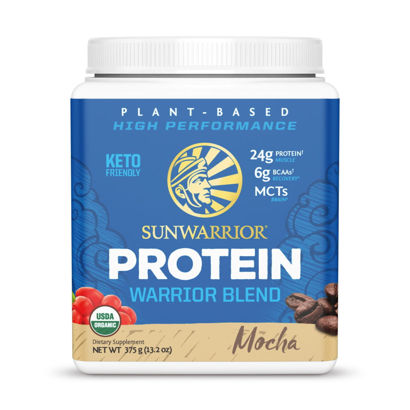 SunWarrior Warrior Blend Protein 15 Servings Mocha