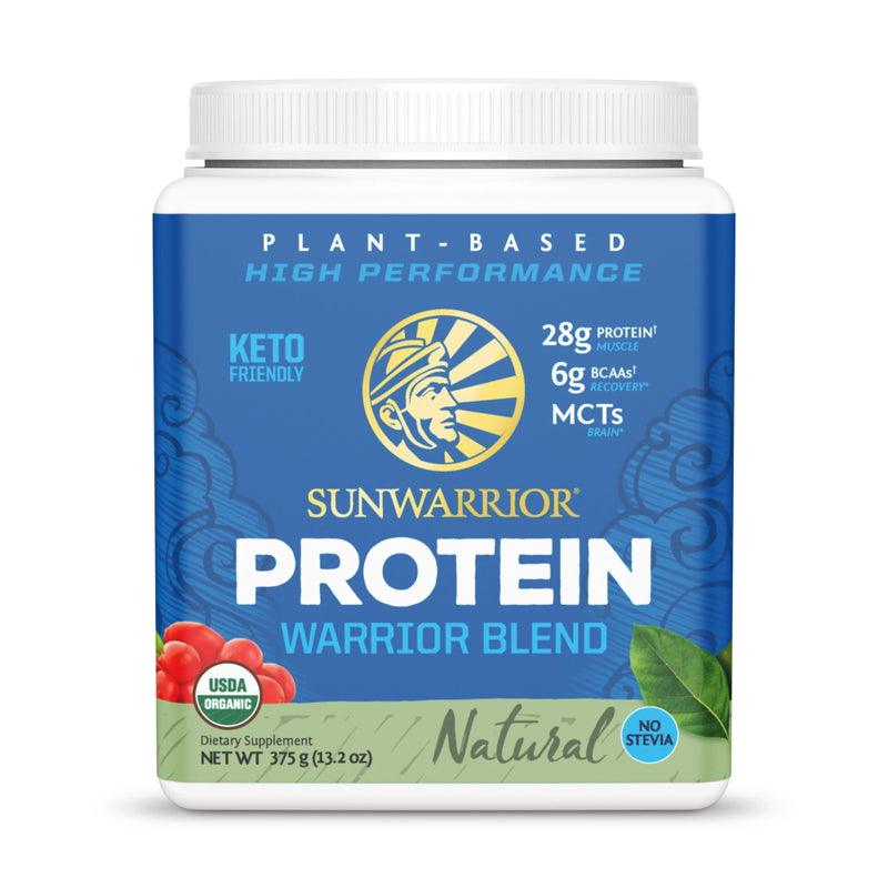 SunWarrior Warrior Blend Protein 15 Servings Natural