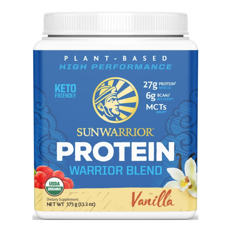 SunWarrior Warrior Blend Protein 15 Servings Vanilla