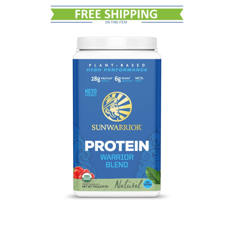 SunWarrior Warrior Blend Protein 30 Servings Natural