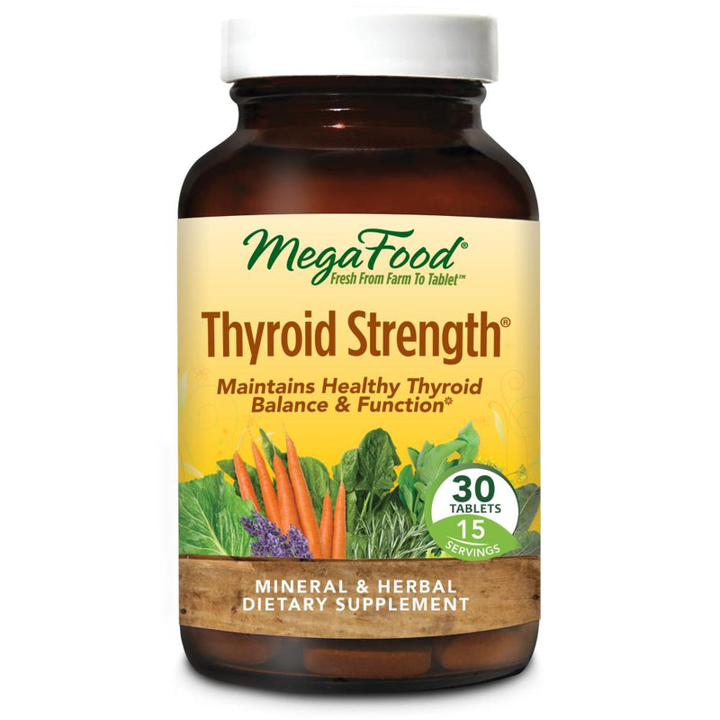MegaFood Thyroid Strength 30 Tablets