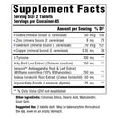 MegaFood Thyroid Strength Supplement Facts