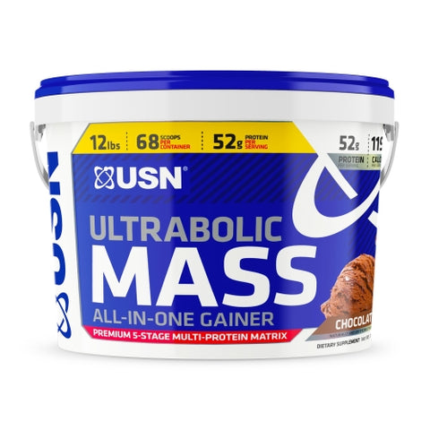 USN Ultrabolic Mass 12lb Chocolate
