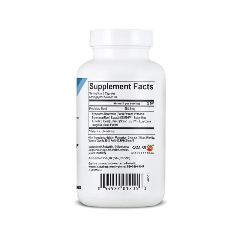 USP Labs Ultimate T Supplement Facts