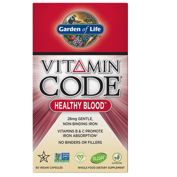 Garden of Life Vitamin Code Healthy Blood 60VC