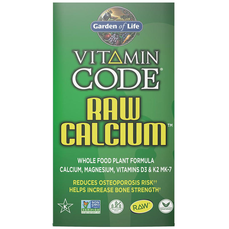 Garden of Life Vitamin Code Raw Calcium 60VC