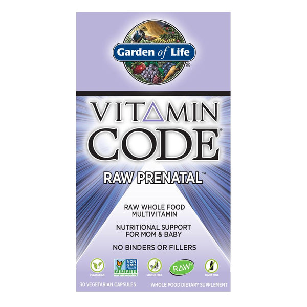 Garden of Life Vitamin Code Raw Prenatal 30VC