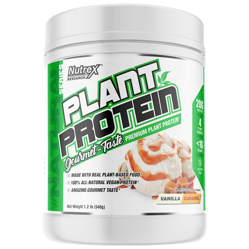 Nutrex Research Plant Protein Vanilla Caramel