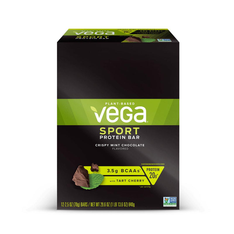 Vega Sport Protein Bars Crispy Mint Chocolate
