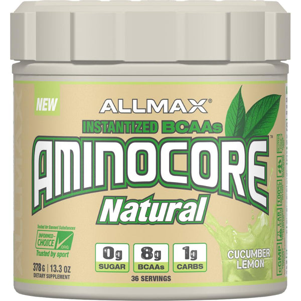 AllMax Nutrition Aminocore Natural 36 servings Cucumber Lemon